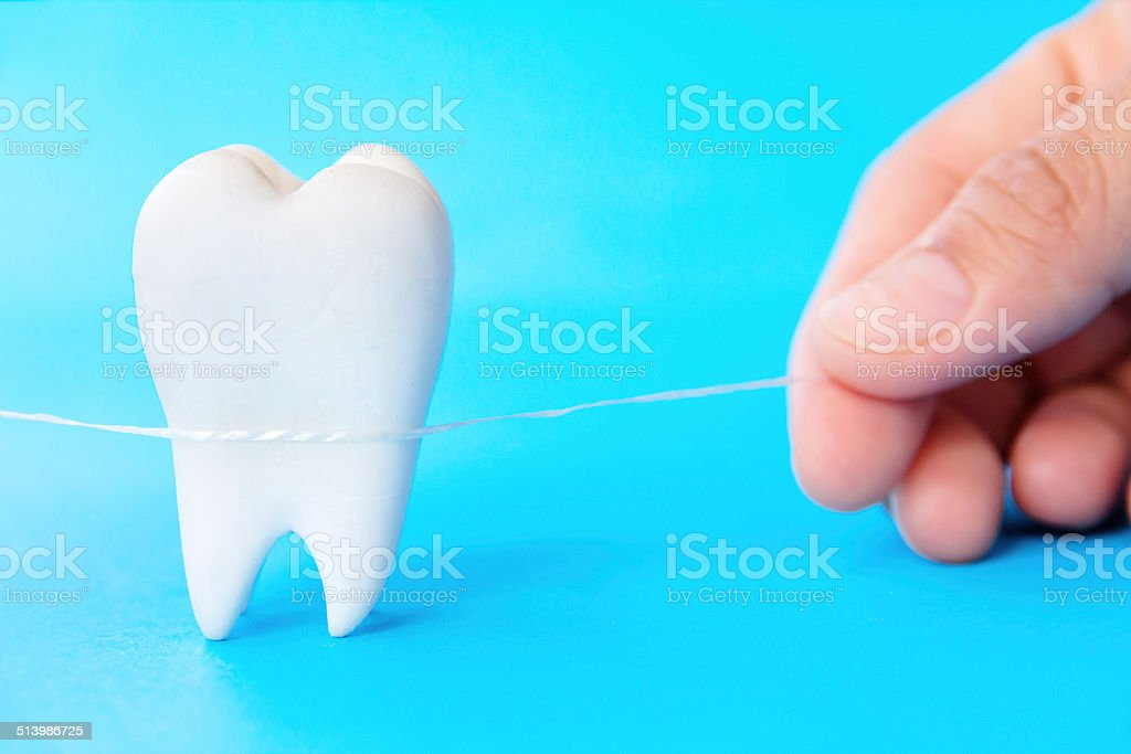 Dental Hygiene Concept stock photo