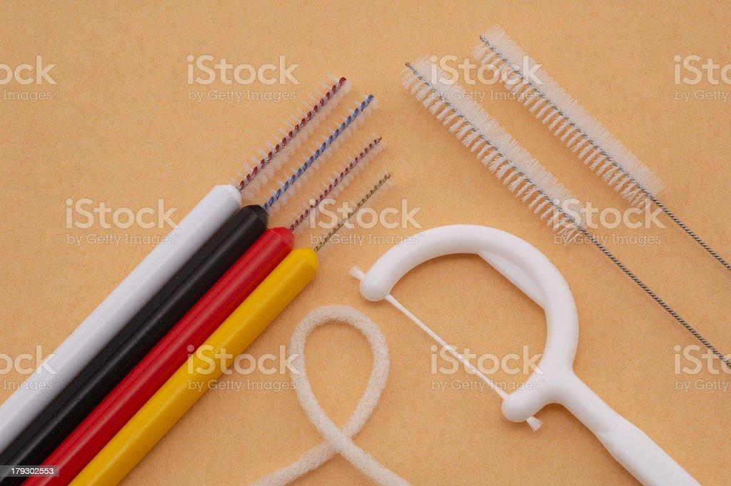 Zahnpflege stock photo