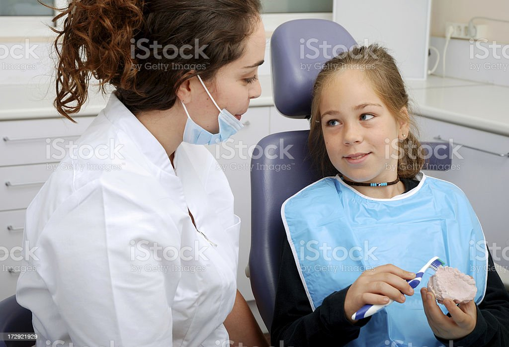 Dental Hygyene royalty-free stock photo
