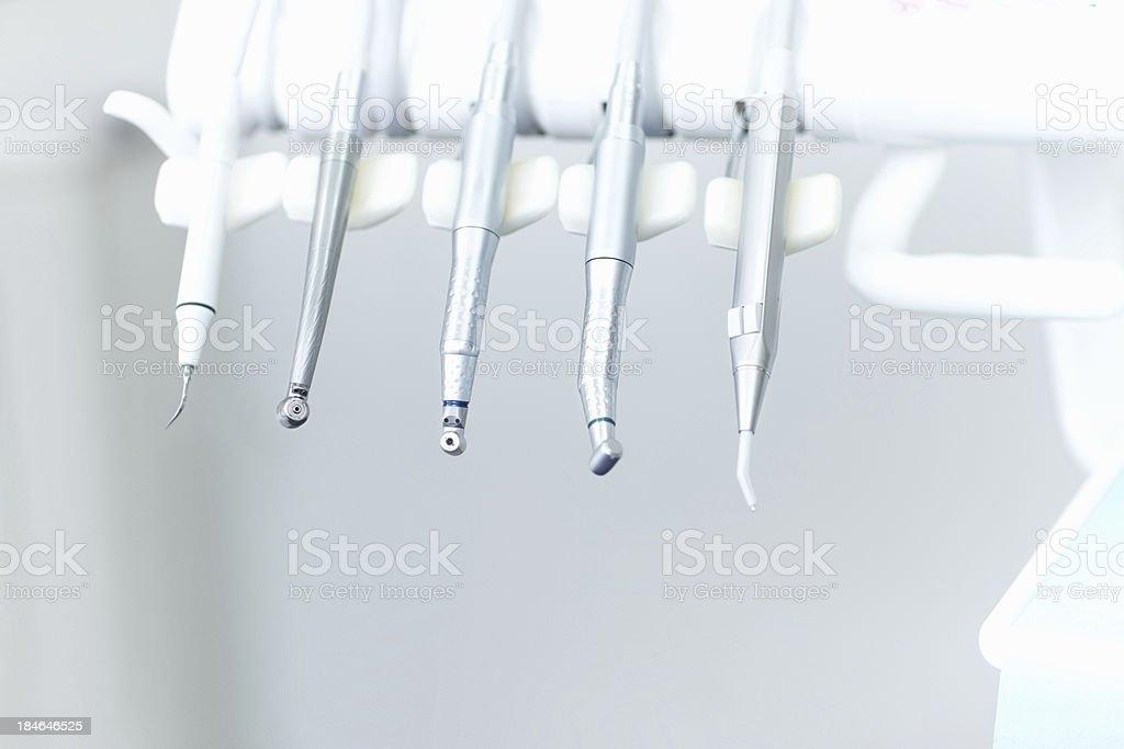 Dental instruments royalty-free stock photo