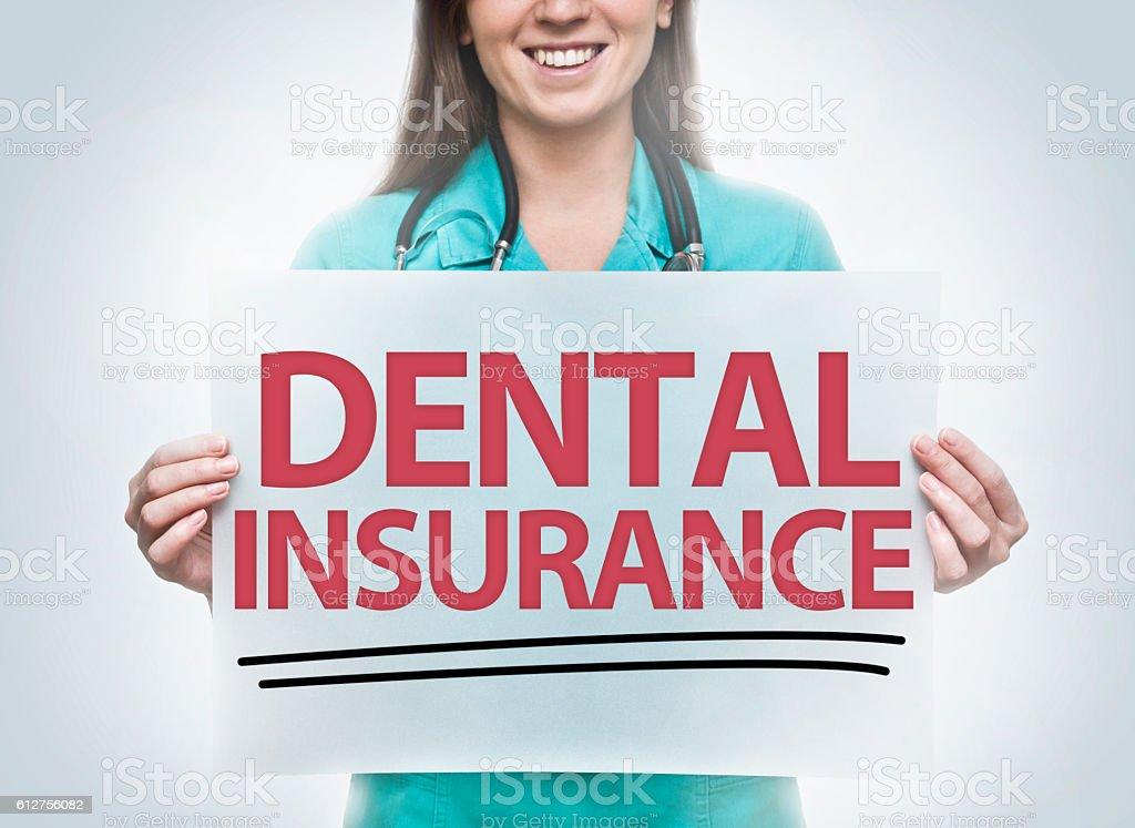 Dental insurance / Medicine concept (Click for more) stock photo