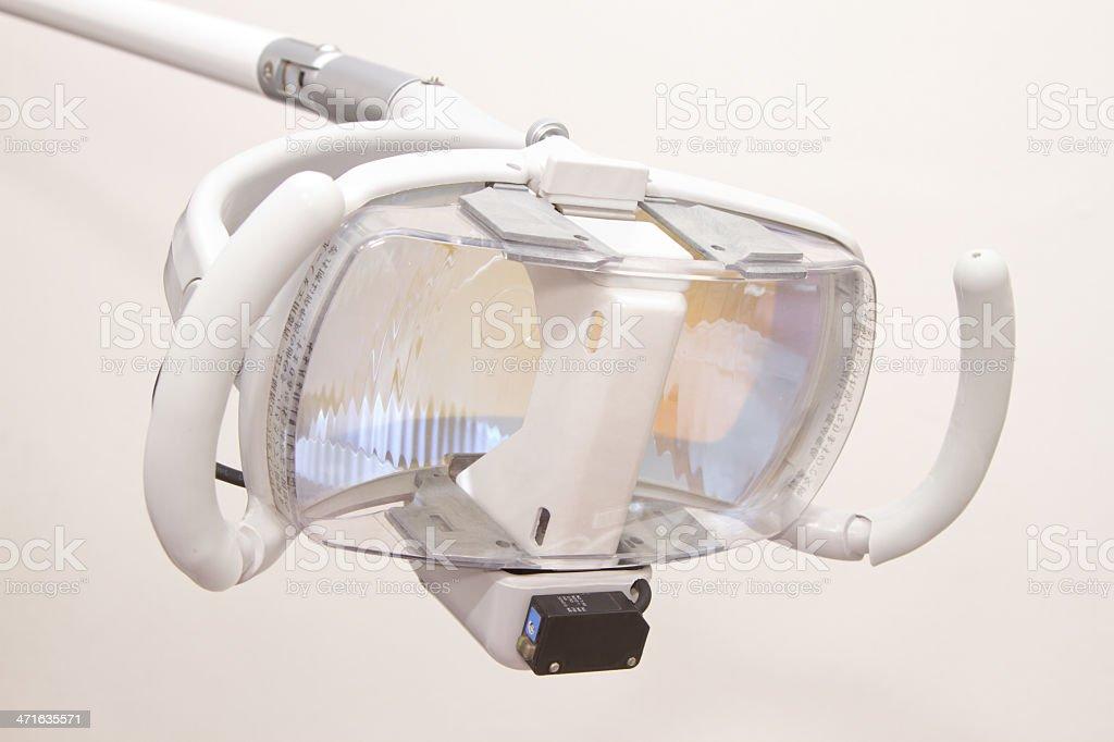 dental lamp royalty-free stock photo