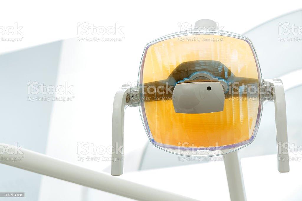 Dental lamp stock photo