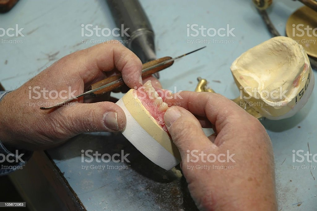 Dental Mac royalty-free stock photo