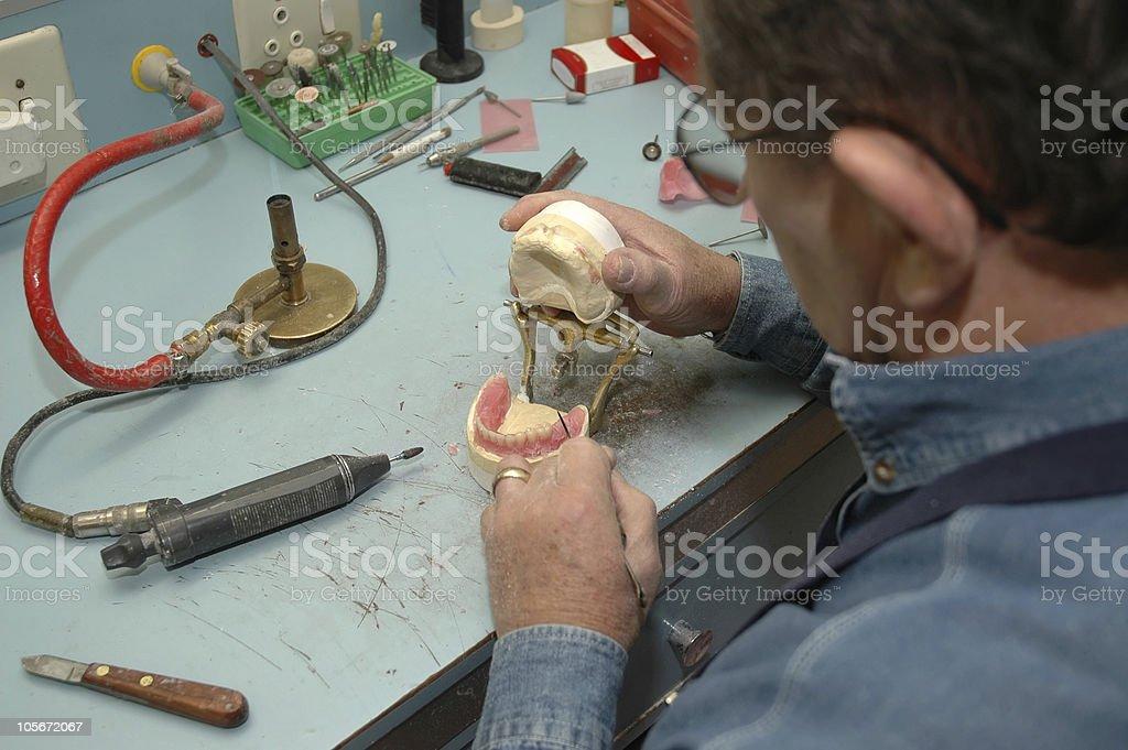 Dental Mac royalty-free stock photo