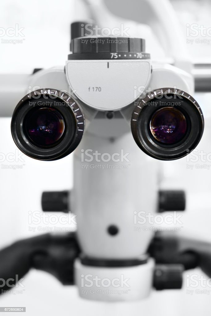 Dental medical microscope for medical operations close-up eyepieces