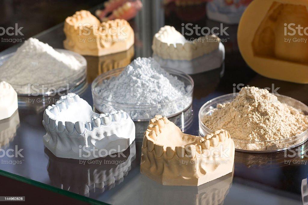 dental mould royalty-free stock photo
