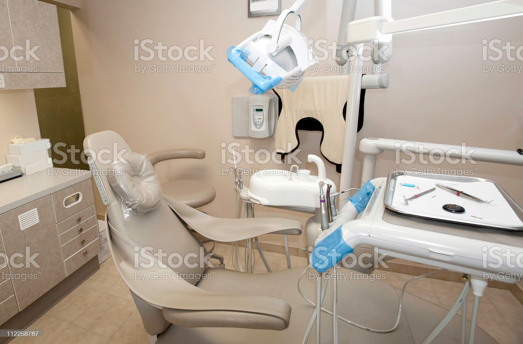 Dental office exam room royalty-free stock photo