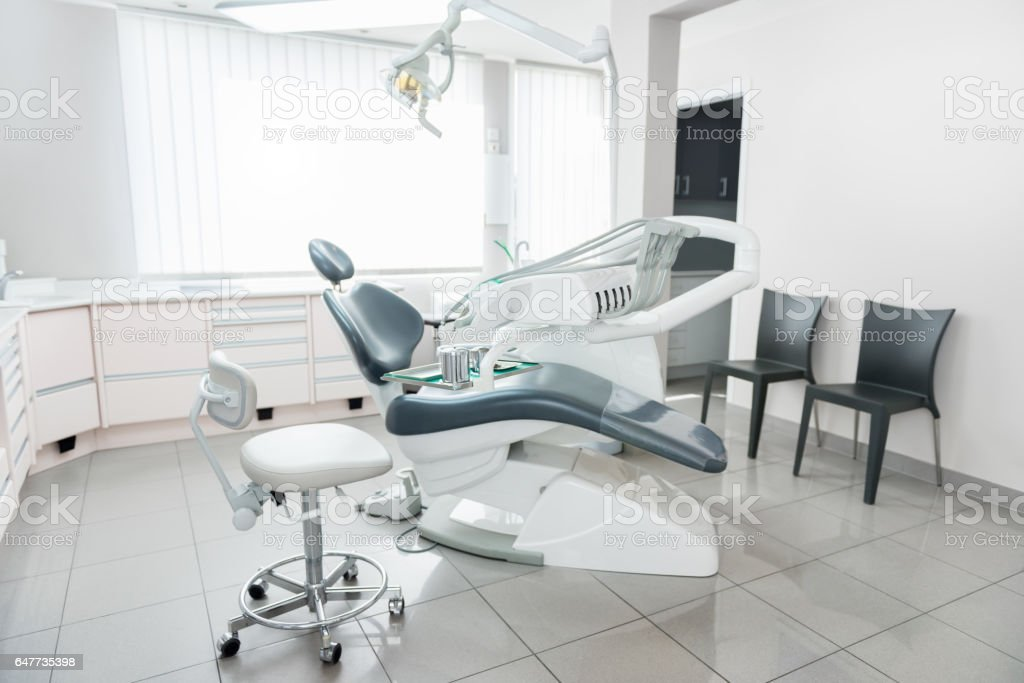 Dental office interior stock photo