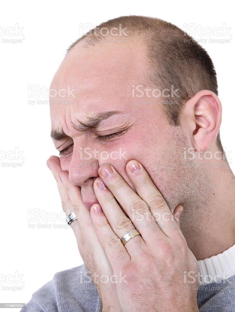 dental pain royalty-free stock photo