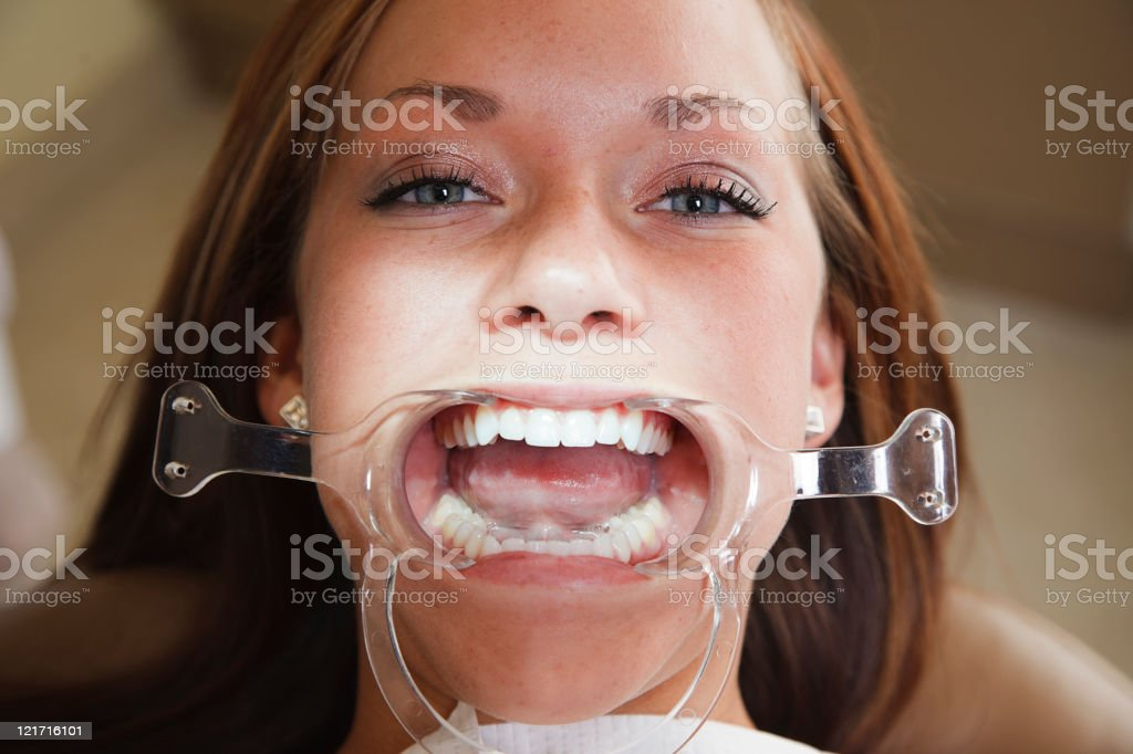 Dental Patient royalty-free stock photo