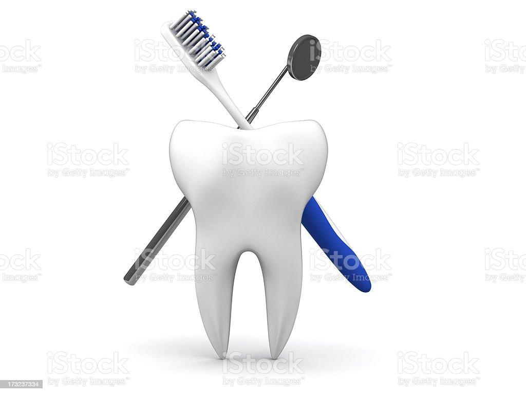 Dental royalty-free stock photo