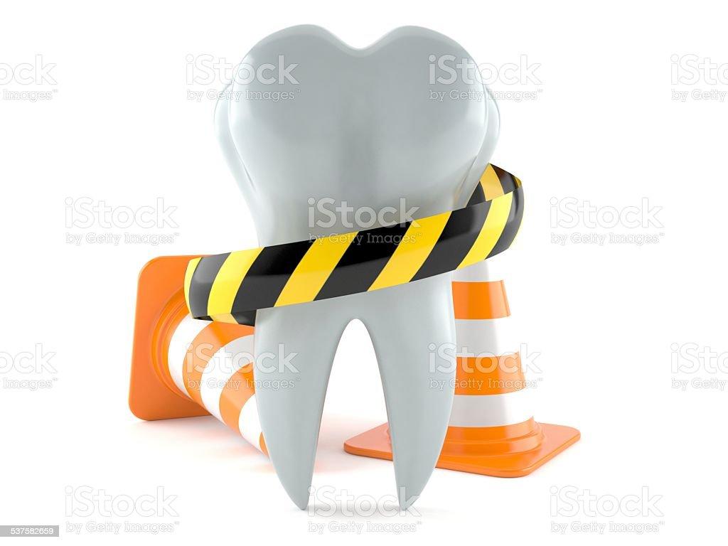 Dental problem stock photo