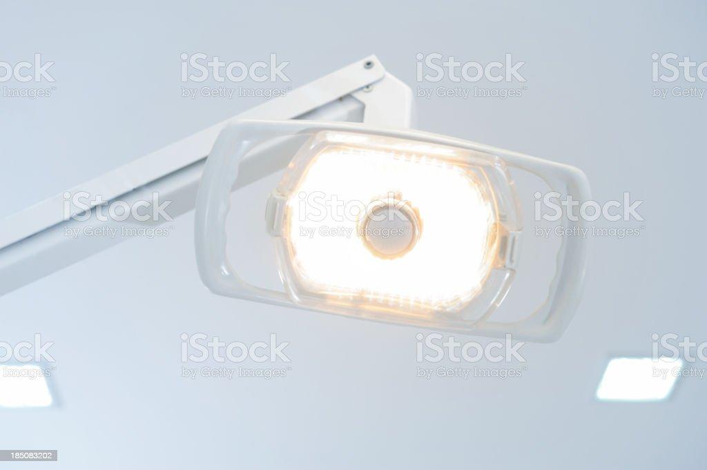 Dental reflector stock photo