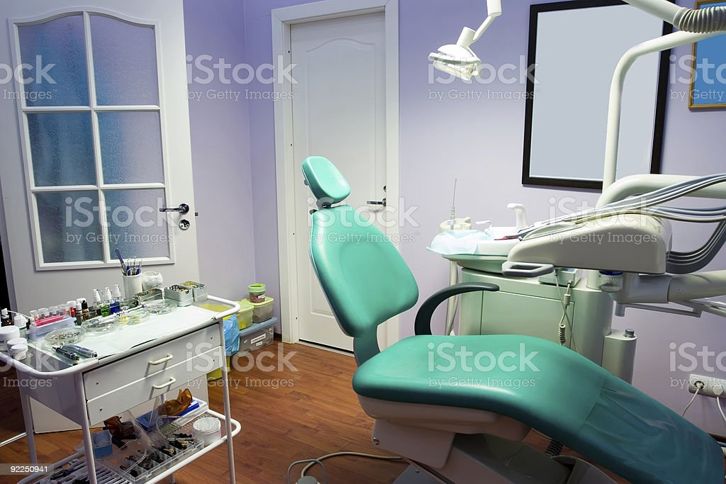 Dental room royalty-free stock photo
