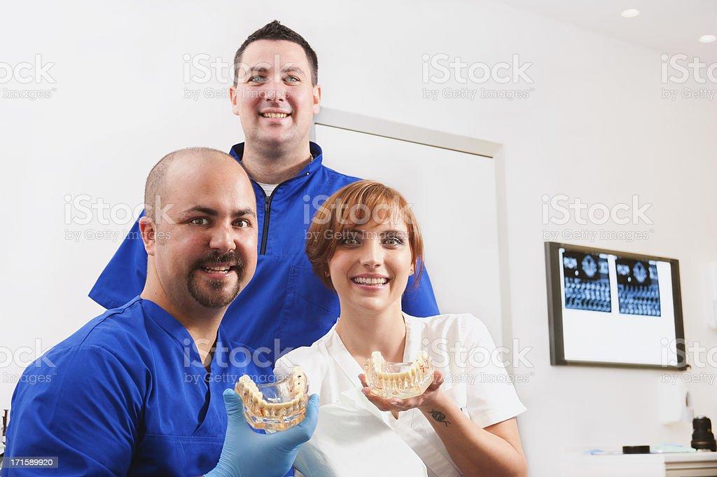 Dental Team stock photo