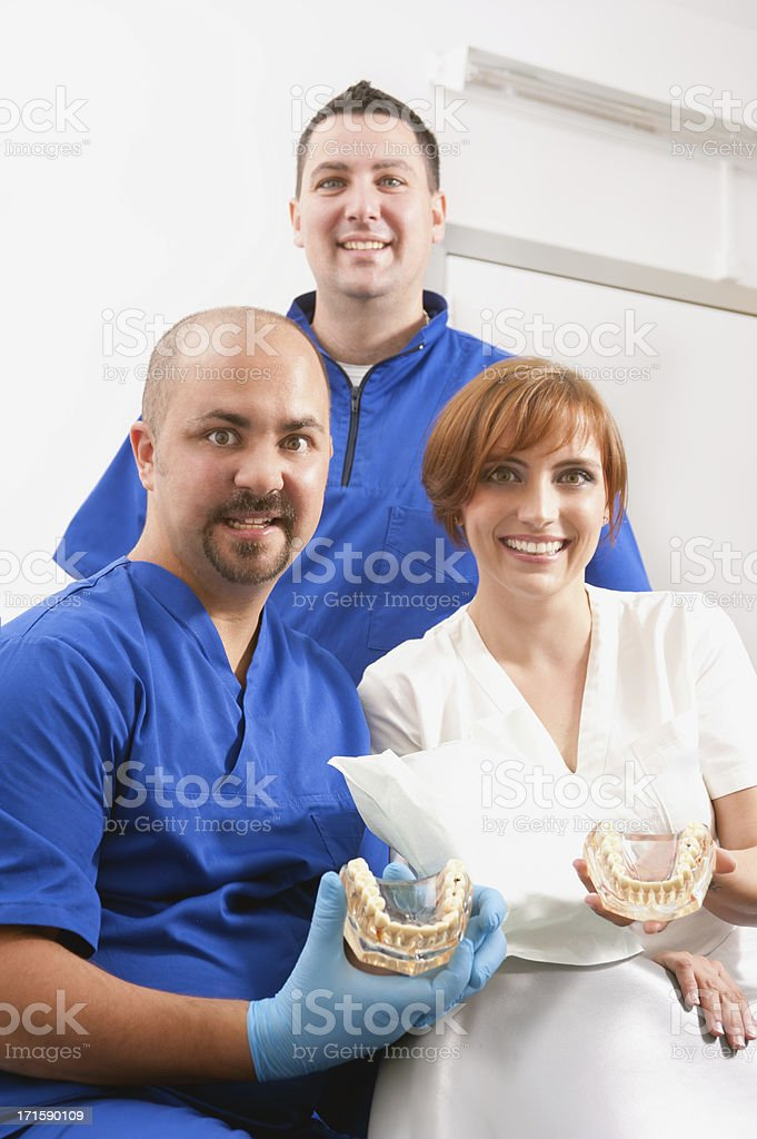 Dental Team stock photo