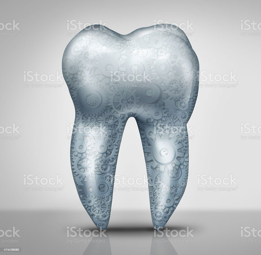 Dental Technology stock photo