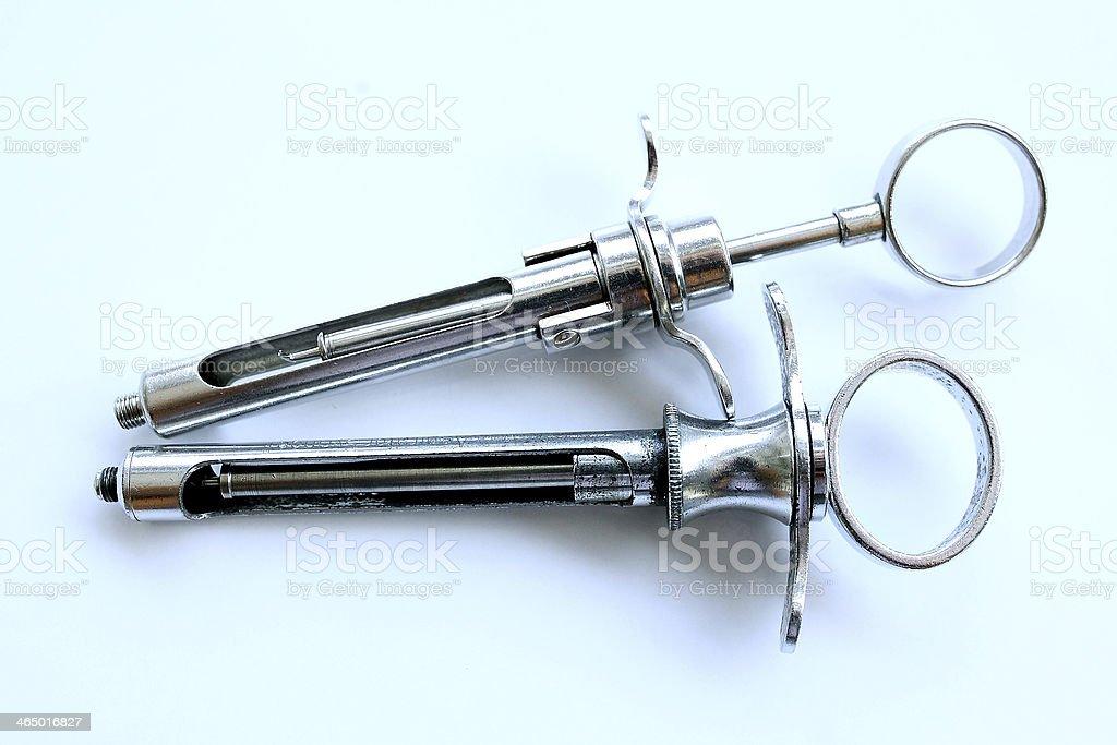 Dental tools in dental's  clinic stock photo