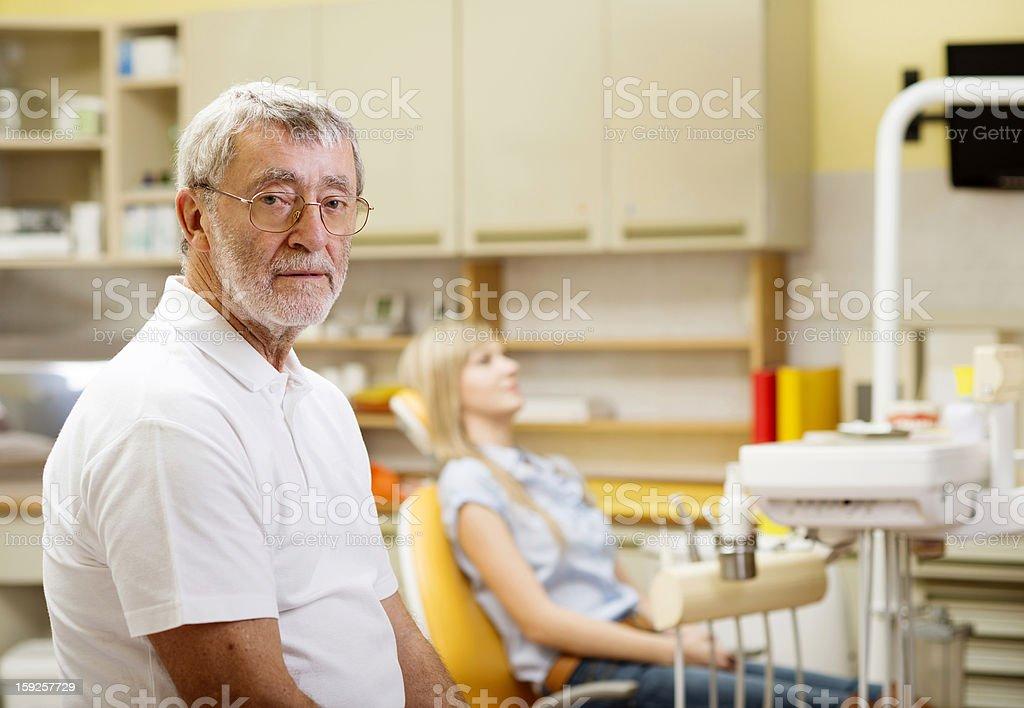 Dental visit royalty-free stock photo