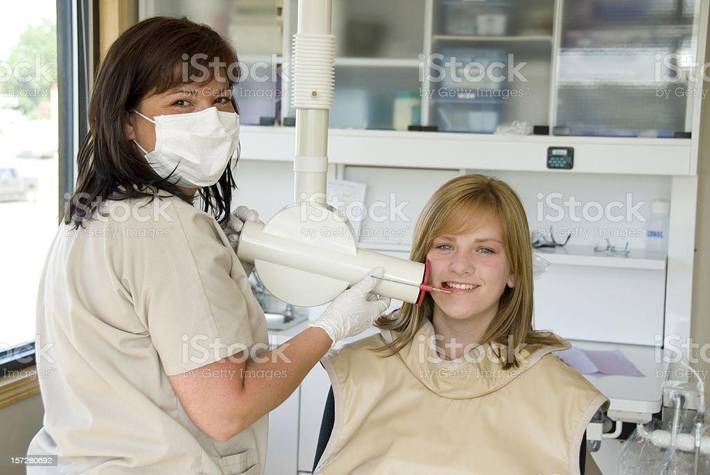 Dental X-ray royalty-free stock photo