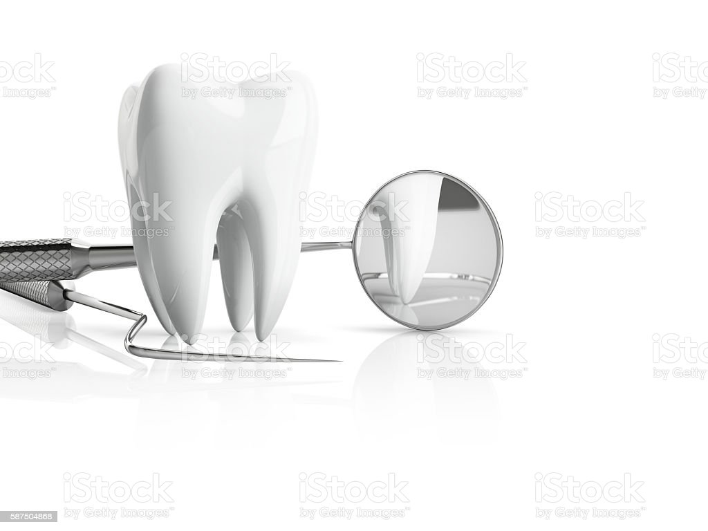 dentist accessories stock photo