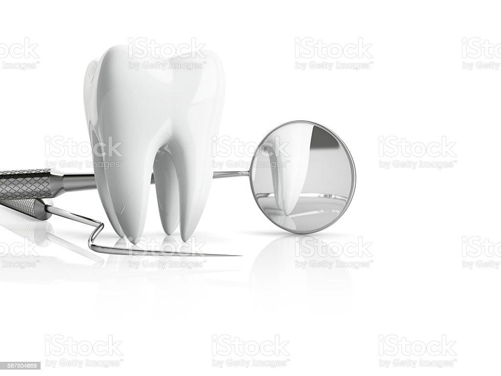 dentist accessories stock photo