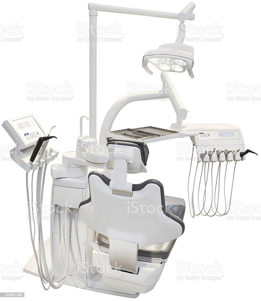 Dentist Chair Cutout royalty-free stock photo