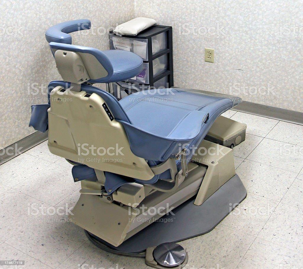 Dentist chair stock photo