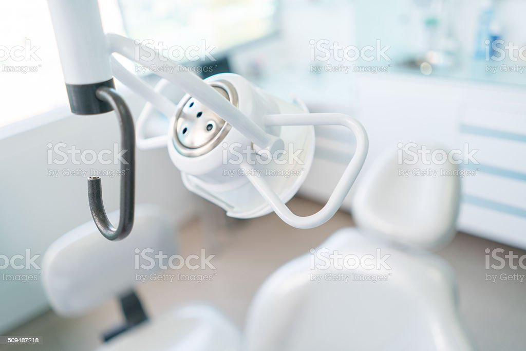 Dentist chair stock photo