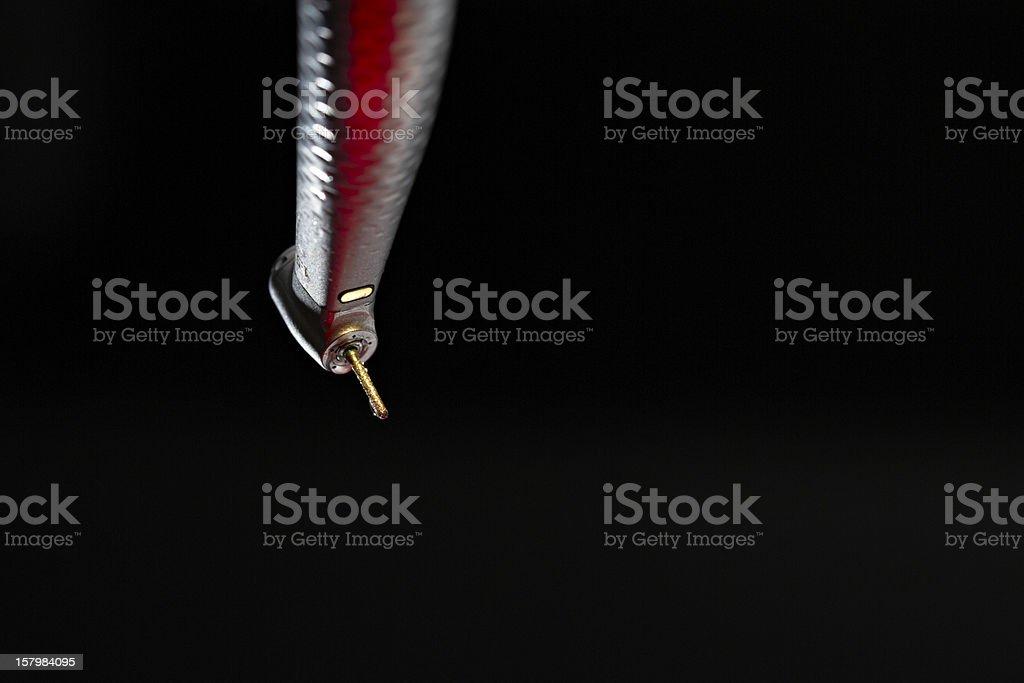 Dentist drill royalty-free stock photo