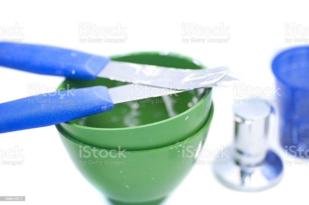 dentist equipment macro stock photo