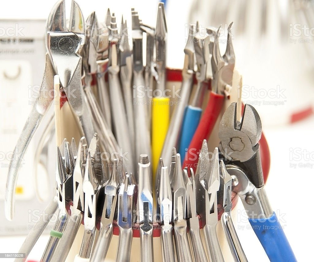 dentist equipment nippers stock photo