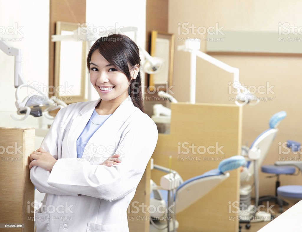 Dentist examination patient royalty-free stock photo