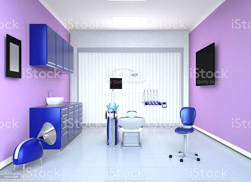 dentist office interior royalty-free stock photo