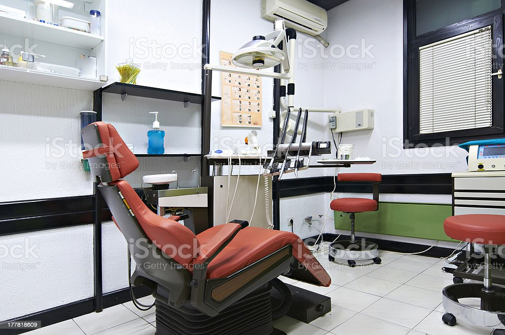 dentist office interior royalty-free stock photo