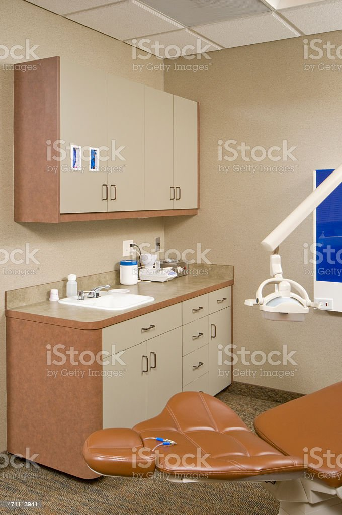 Dentist patients room royalty-free stock photo