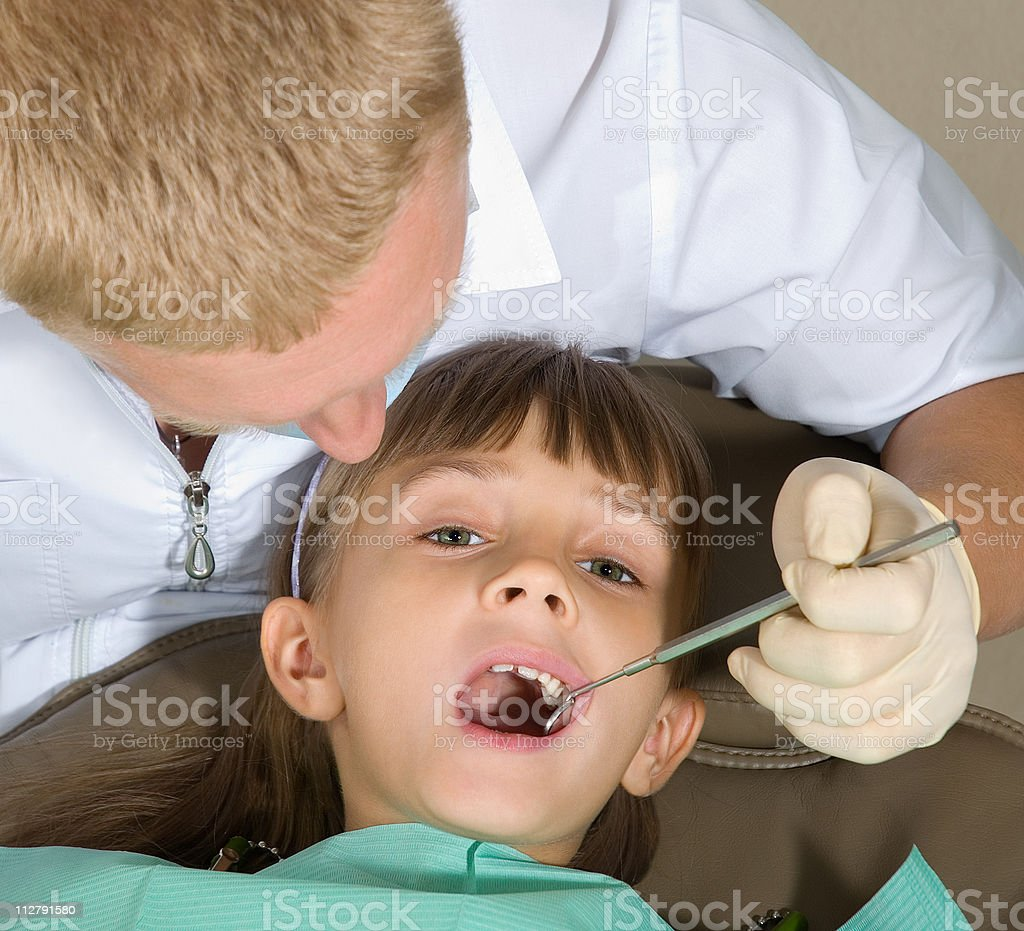 Dentist stock photo