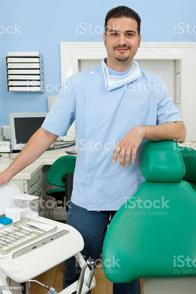 Dentist royalty-free stock photo