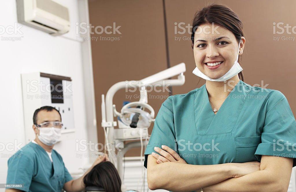 Dentist Portrait royalty-free stock photo