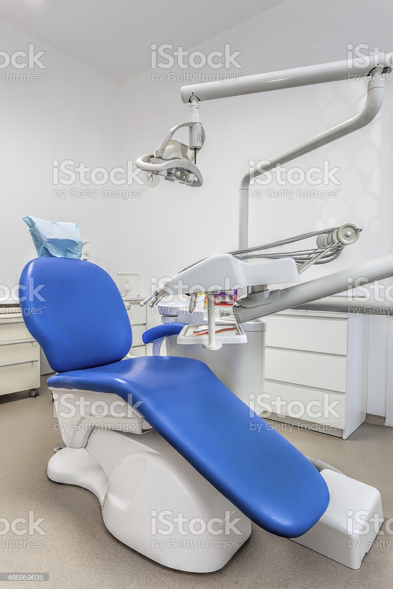 Dentist seat royalty-free stock photo