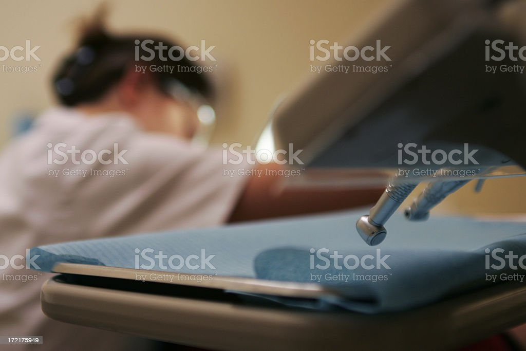 dentist time royalty-free stock photo