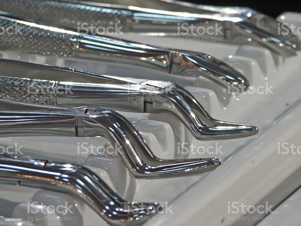Dentist tool royalty-free stock photo