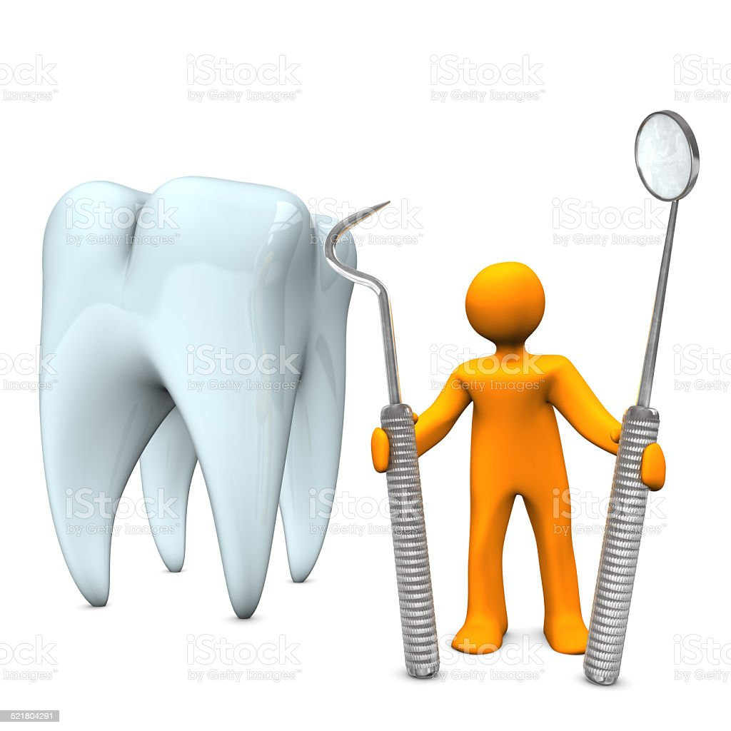 Dentist Tooth Tools stock photo