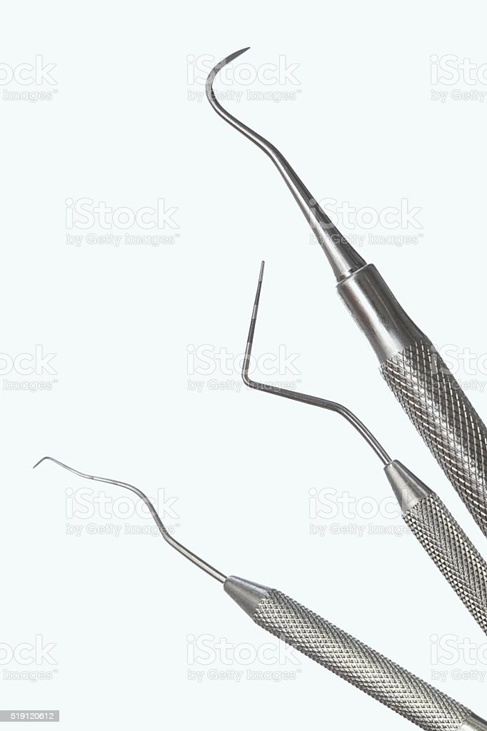 Dentistry tools stock photo