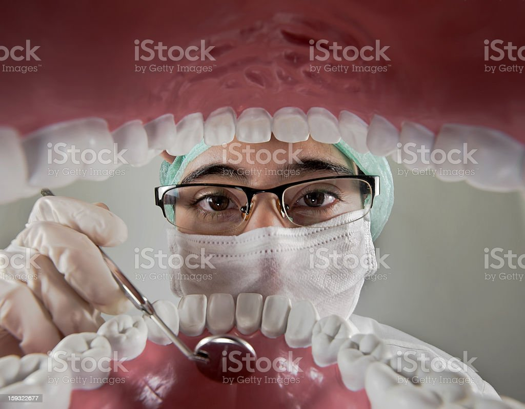 dentists and oral care royalty-free stock photo