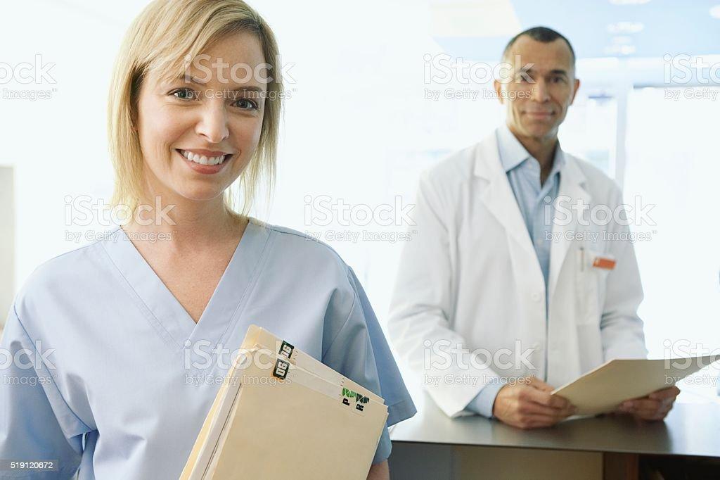 Dentists stock photo