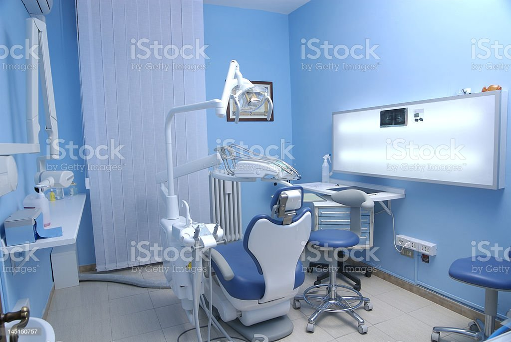 Dentist's room royalty-free stock photo