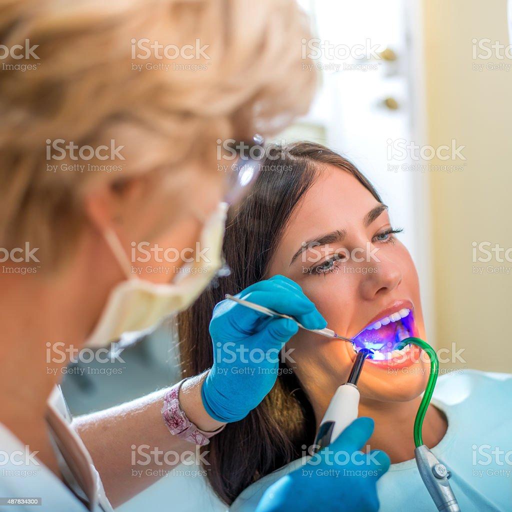 Dentist's surgery stock photo