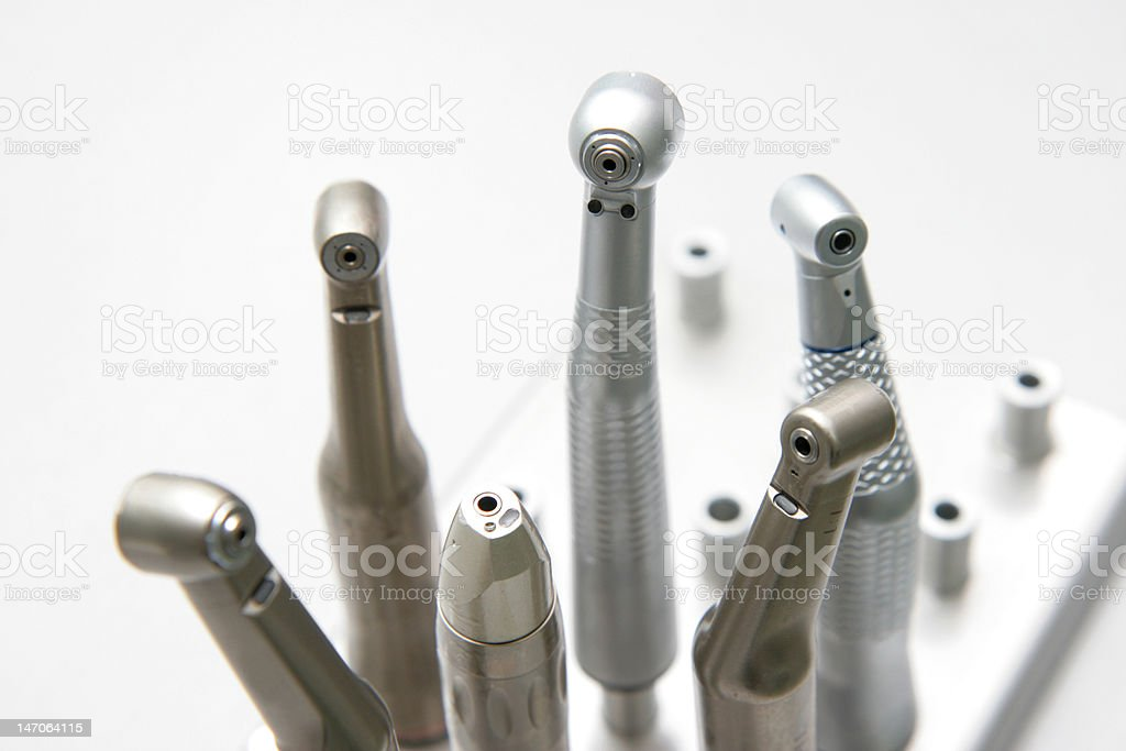 Dentist's tools royalty-free stock photo